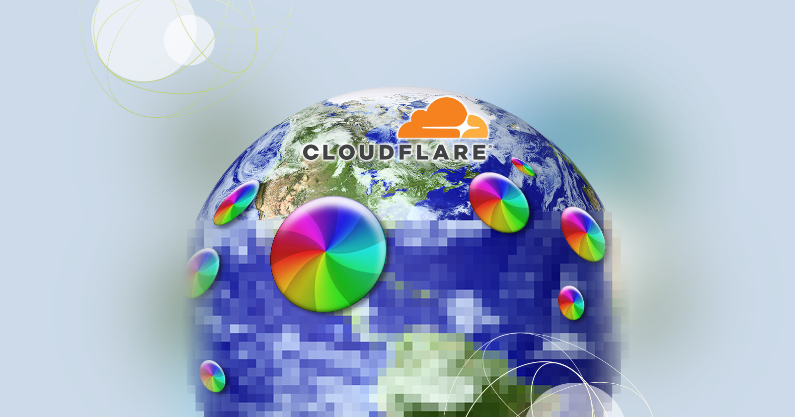 Cloudflare got the world to stop spinning its wheels, with a little help from Pelion.